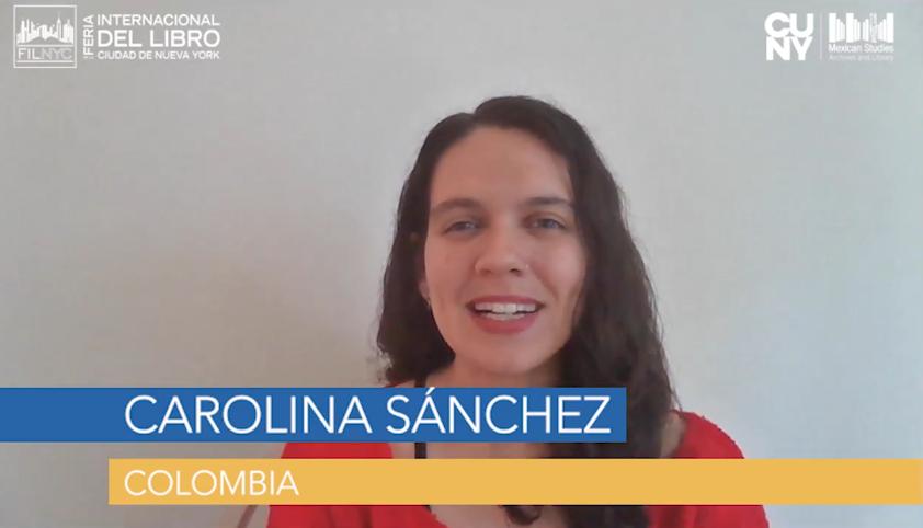 Vídeo: Carolina Sánchez en la #FILNYC. Lanzamiento de 'Viaje/Voyage'