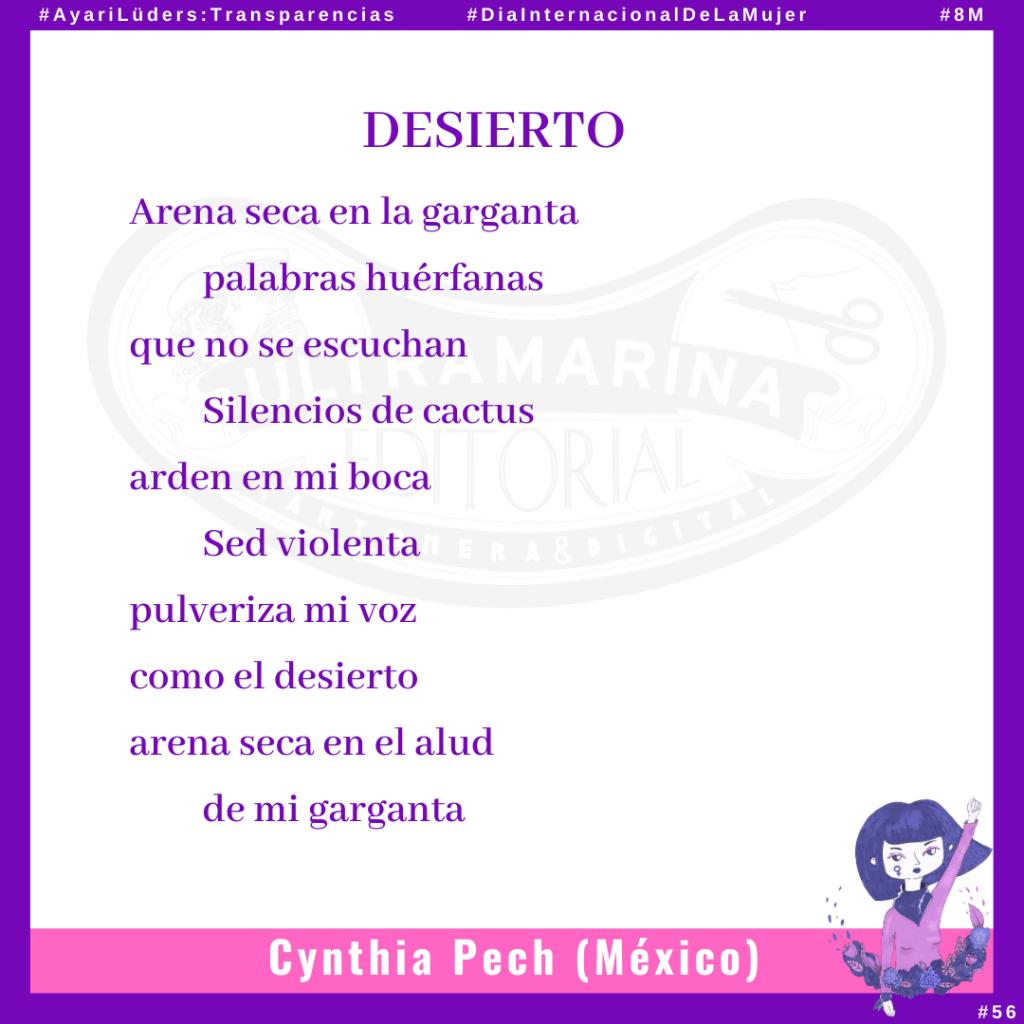 «Desierto» por Cynthia Pech #AyariLüders:Transparencias