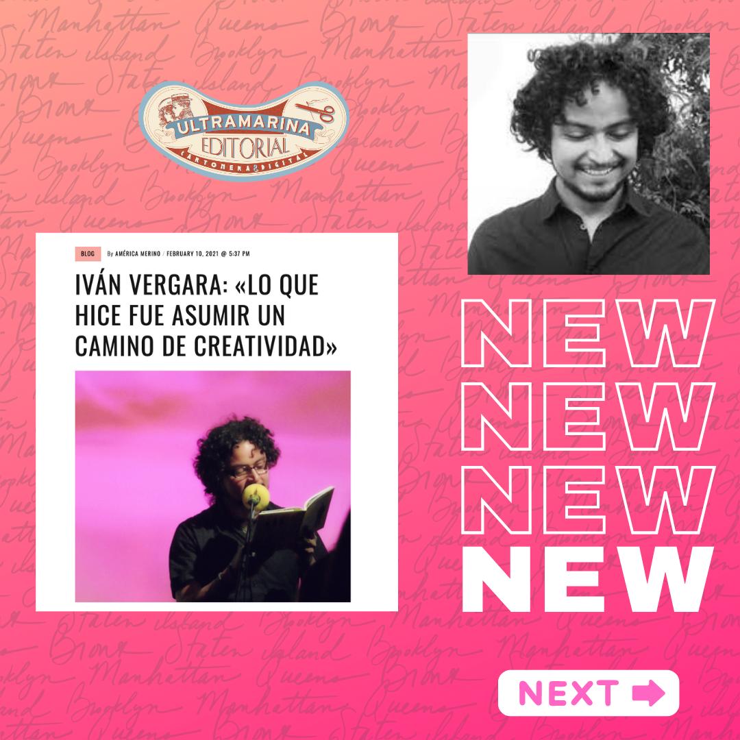 Iván Vergara: «Lo que hice fue asumir un camino de creatividad» #Entrevista