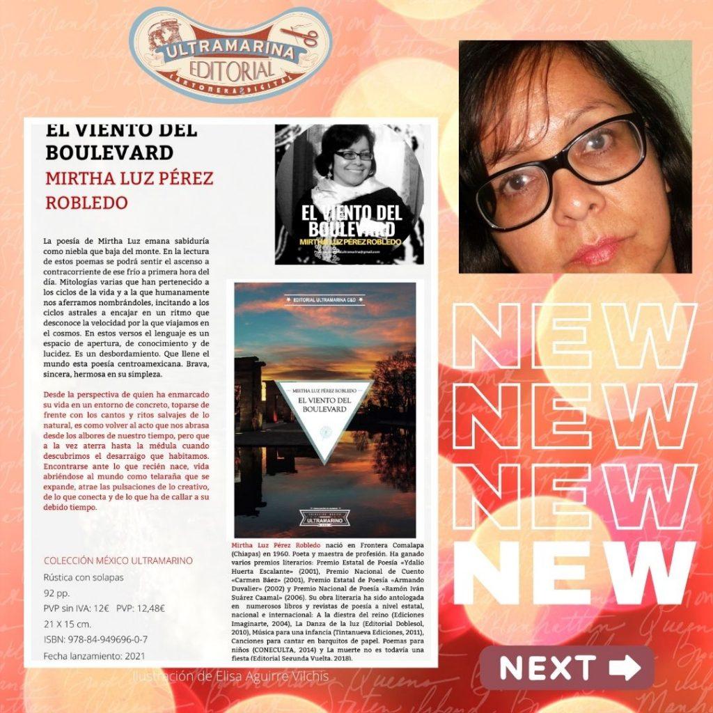 Conoce a nuestras poetas: Mirtha Luz Pérez, en Wikipedia