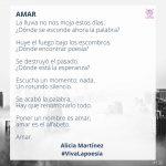 #VivaLaPoesía Alicia Martínez #136