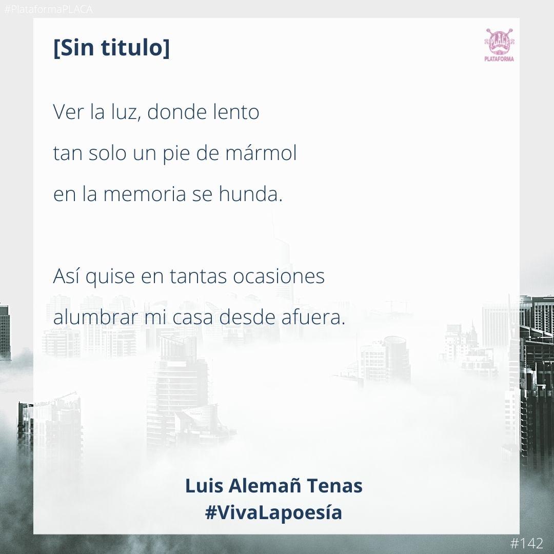 #VivaLaPoesía Luis Alemañ Tenas #142