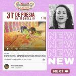 Escucha a las poemas de Carolina Sánchez, una autor colombiano, en un Festival internacional de poesia!
